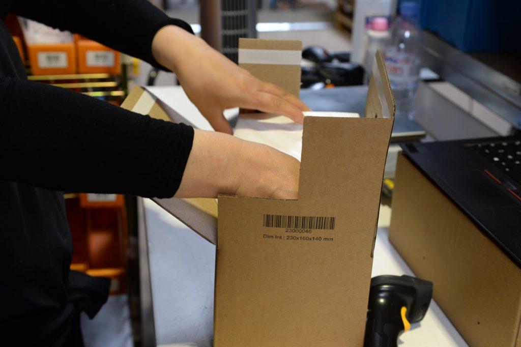 Emballage colis